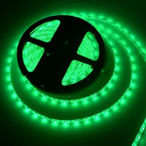 Tira de LED 12v 5050 IP20 verde