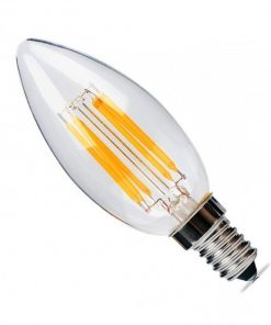Bombilla LED vela de filamento E14