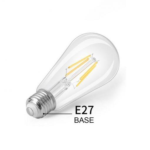 bombilla filamento ST64 E27