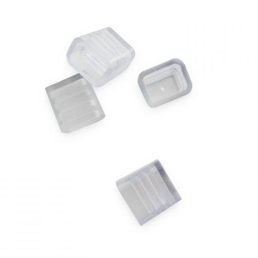 Tapones de silicona para tiras LED 230v