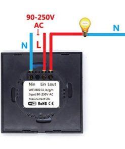 Conexiones Interruptores inteligentes sonoff