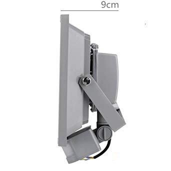 Medidas del proyector de exterior LED con sensor de movimiento