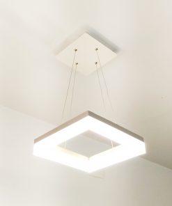 Lámpara de techo LED Llana diseño cuadrado