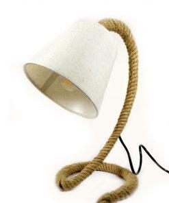 Lámpara de LED cuerda Yute