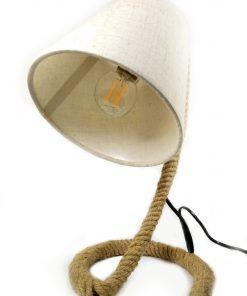 lámpara de cuerda Yute Para bombillas LED