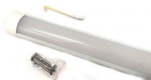Pantalla lineal de LED Osram con accesorios