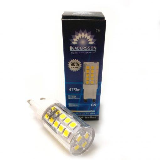 Bombilla de LED G9 blanco frío