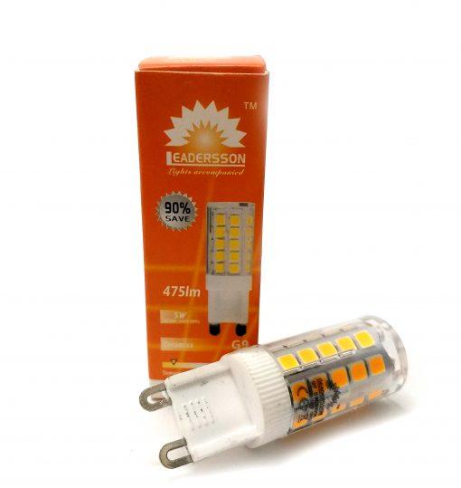 Bombilla de LED G9 blanco cálido