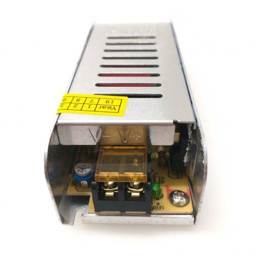 transformador de tira LED 24v vista frontal