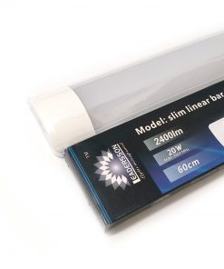 Pantalla lineal LED 20W con caja