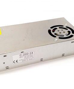 Transformador de LED 200W 24VDC 6,5A IP25 con ventilador