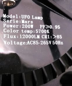 Características de la campana de LED Mars OSRAM