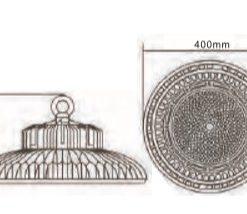 Medidas equivalencia de campanas de LED