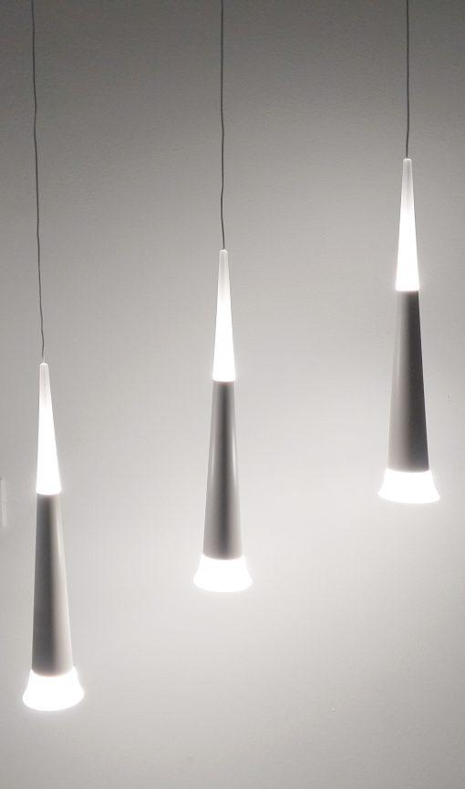 Lámpara de techo LED lágrima