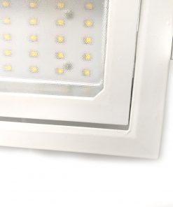 Downlight LED cuadrado orientable para comercio