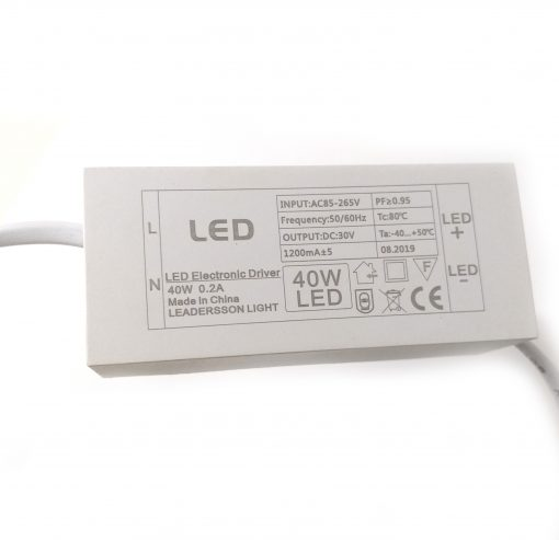 Driver del Downlight LED cuadrado orientable para comercio