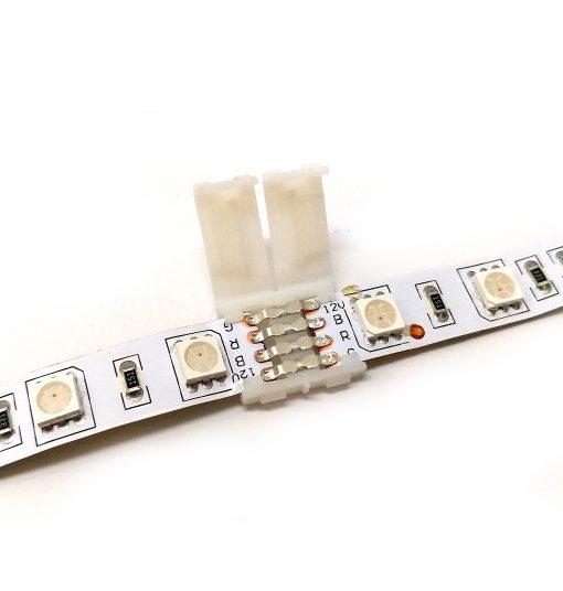 Conector de tira LED rgb tira con tira