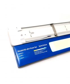 Pantalla lineal LED 20W conexión trasera con caja