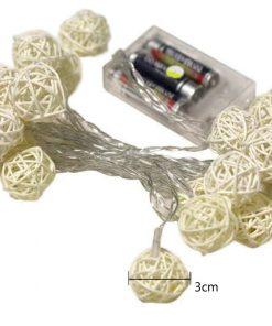 Guirnalda de LED con pilas