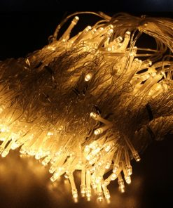 Medidas de Guirnalda de LED de cortina tono cálido