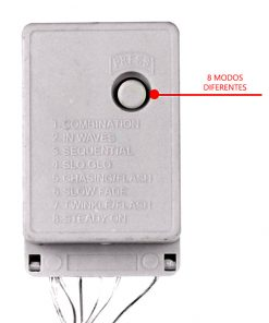 controlador con programas para guirnalda de LED