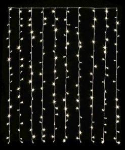 Medidas de Guirnalda de LED de cortina
