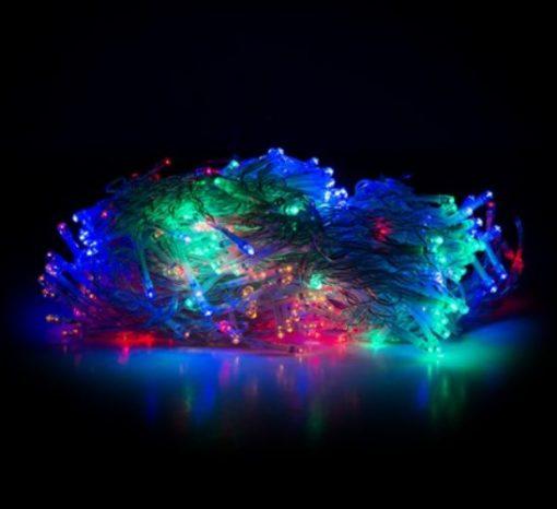 Guirnalda de LED de cortina RGB