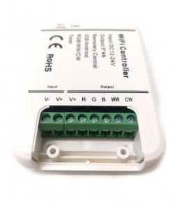 conexiones del controlador WIFI para tiras LED