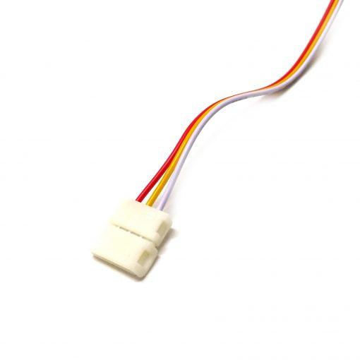 conector de inicio tira LED dual