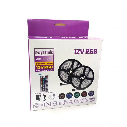 Pack de tira LED rgb 12v IP65