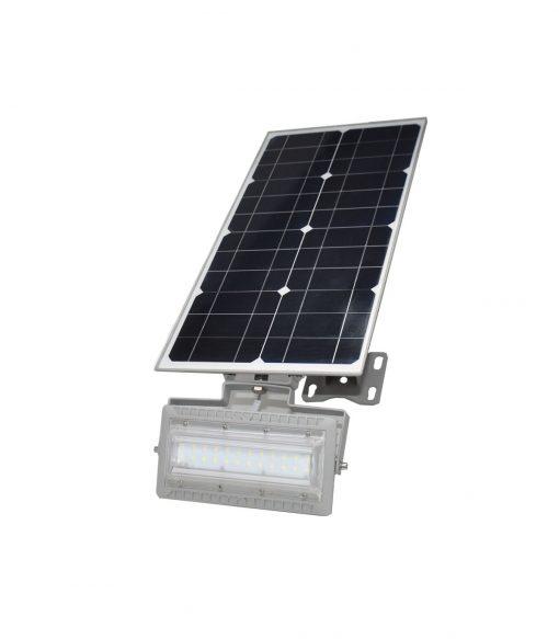 Proyector de LED solar con placa fotovoltaica