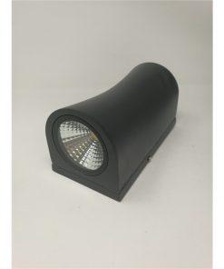 Aplique de LED exterior negro