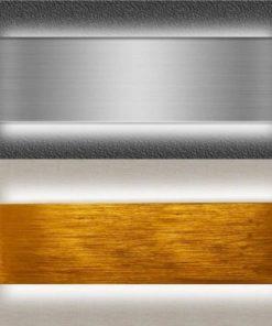 Apliques LED Niquel y dorado luz indirecta