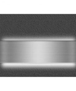APLIQUE LED Niquel luz indirecta