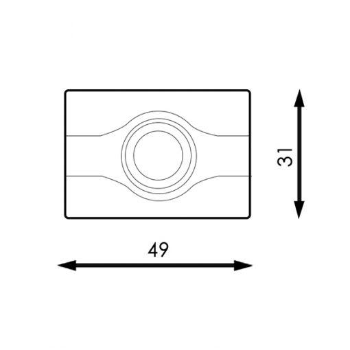 medidas Cadena de módulos LED Samsung