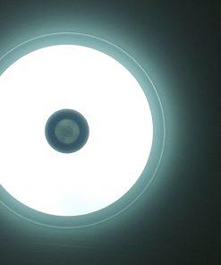 plafón con altavoces LED 36w bluetooth con mando frío