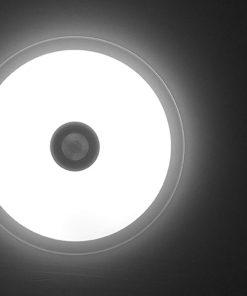 plafón con altavoces LED 36w bluetooth con mando neutro