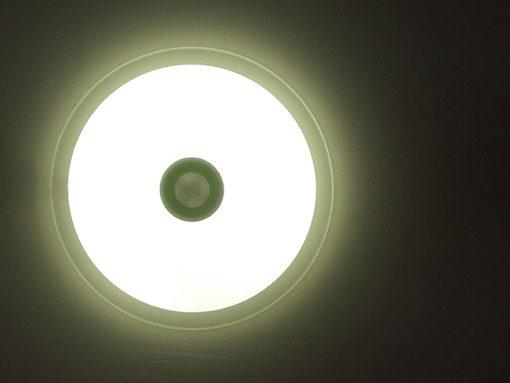plafón con altavoces LED 36w bluetooth con mando cálido